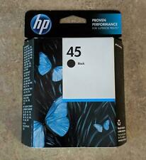 Genuine HP 45 Black InkJet Cartridge 51645A**OOB***FAST FREE SHIPPING*** A3-11
