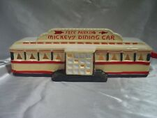 "Dept 56 Snow Village ""Mickey's Diner"" aka ""Mickey's"" or ""Diner"" 1986 Item 50784"