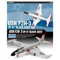ACADEMY #12548 1/72 Plastic Model Kit USN F2H-3 VF-41 Black Aces
