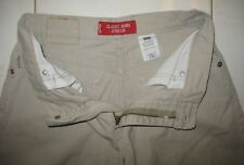 LEVI'S CLASSIC JEANS STRETCH 5 POCKET SHORTS -  LADIES  Size 4 MIS - BEIGE