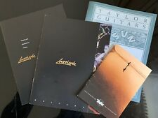 Taylor Guitar '99 Price List '01  & Jean Larrivee Guitars '00 Brochures Catalogs