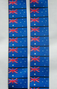 "MENS BRACES AUSTRALIAN FLAG WORK FISHING MOTORBIKE ROCK 2"" H/D BRACE YOURSELF"