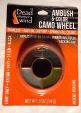 Dead Down Wind Ambush Camo 5 Color Face Paint Wheel Spring Fall Colors New