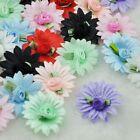 20/40/200pcs Satin Flower Rose sewing/wedding/the appliques U pick 8Color A175