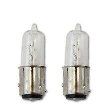 1157 12 Volt 30/30w Halogen Tail Light Rear Brake Stop Turn Signal Bulb Pair 7.5