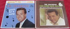 Vic Damone [Lot of 2 Vinyl LPs]: Yours For A Song / Country Love Songs