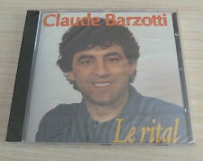 CD ALBUM CLAUDE BARZOTTI LE RITAL 15 TITRES 2002 NEUF SOUS CELLO
