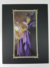Disney Parks Maleficent Forseen Future print by Darren Wilson Art of Disney New