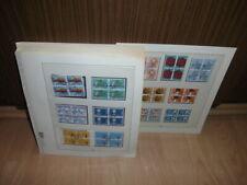 Sammlung CH Schweiz VIERERBLOCKS gestempelt Freimarken 1962-1983 komplett (52103
