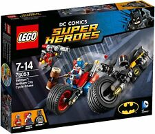 LEGO SUPER HEROES DC COMICS BATMAN GOTHAM CITY CYCLE CHASE 76053 NUEVO SIN ABRIR