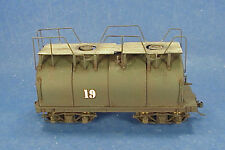 On3/On30 WISEMAN MODEL SERVICES NCNG SHORTY WHALEBACK TENDER KIT