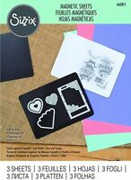 Sizzix Magnetic Sheets 662871, 3 Pack, One Size, Multi-Colour Colour