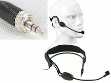 Pro Headset Head-mounted Headworn Microphone for Sennheiser Wireless