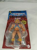 "MASTERS OF THE UNIVERSE ORIGINS HE MAN HE-MAN 5.5""ACTION FIGURE Light Box Damage"