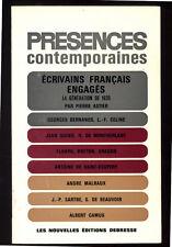 PIERRE ASTIER, ÉCRIVAINS FRANÇAIS ENGAGÉS, LA GÉNÉRATION DE 1930