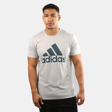 NEW MENS ADIDAS CLIMALITE BADGE OF SPORT GRAPHIC T SHIRT TEE L