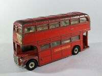 Vintage Meccano Dinky Routemaster 289 Double Decker London Bus Diecast Toy E5