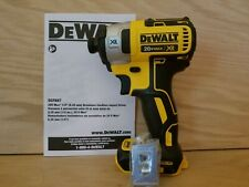 "New DEWALT DCF887  20V MAX  XR Brushless 1/4"" 3-Speed Impact Dr. w/ Belt clip"