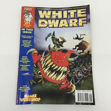 WHITE DWARF ISSUE 201 SPACE HULK WARHAMMER QUEST UNPUNCHED CARDS SEPTEMBER 1996