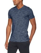 Nwt Under Armour Men's Sportstyle Core V-Neck Tee Academy/White 1306492-408 S
