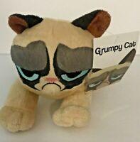 """Grumpy Cat Laying Plush  7"""" Stuffed Animal NEW"""