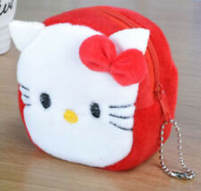 Hello Kitty Girl Plush Wallet Purse Pouch BAG Case; Women's / Kid Money