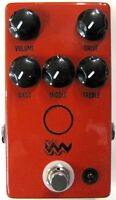 Used JHS Angry Charlie V3 Overdrive Distortion Guitar Effects Pedal