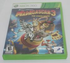 XBOX 360 DreamWorks Madagascar 3 The Video Game Works. Disc and Case  – No Instr