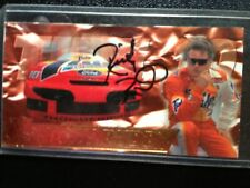 1995 Ricky Rudd Autographed Press Pass Card