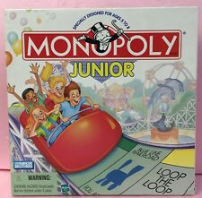 Monopoly Junior Board Game Parker Brothers Hasbro Child Vintage