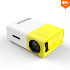 Yg-300 lcd portátil mini LED projector support 1080p 400 - 600 lumens 320 x 240