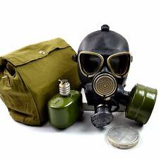 Soviet russian military gas mask GP-7VM PMK black army gas mask full set