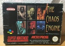 Super Nintendo SNES The Chaos Engine Pal FRANCAIS COMPLETO