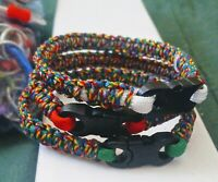Autism Awareness Micro Paracord Bracelets, Made in U.S.A! Free Shipping!