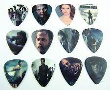 10pcs 1.0mm Musical Bass Walking Dead Guitar Picks Plectrums Printed Both Sides