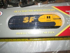 O gauge Williams 972465 Santa Fe FM Trainmaster Diesel engine in box.
