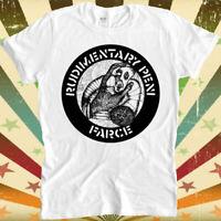 Rudimentary Peni Farce Punk Rock Retro Vintage Hipster Unisex T Shirt 1726