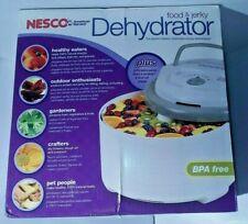 NEXCO FD-75A, American Harvest Pro Food Dehydrator, Gray 5 Tray