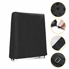 New listing Pong Table Cover Outdoor Foldable Table Tennis Table Protective Cover B6N2