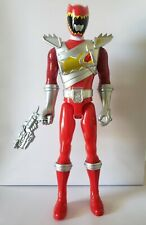 "Power Rangers Dino Charge Red Ranger 12"" Figure Complete W/Weapon Bandai"