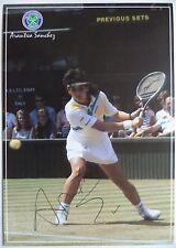 Arantzazu Sanchez – 14 titoli Grande Slam-Cartolina Originale Autografato tennis
