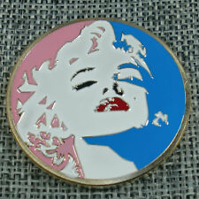 Marilyn Monroe the actress, playboy center-fold girlfriend of the President coin