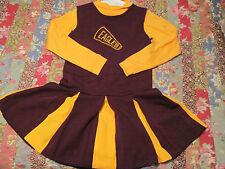 Boston College BC Eagles girls 2 piece cheerleader costume little king size 14