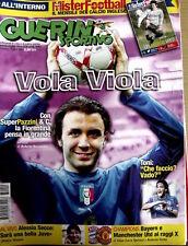 Guerin Sportivo 13 2007 con inserto Mister Football calcio inglese - Pa  [GS.33]