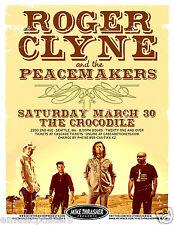 ROGER CLYNE /& PEACEMAKERS 2006 Gig POSTER Portland Oregon Concert