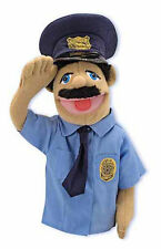 "15"" POLICE OFFICER PUPPET #2551 ~ Community Helper ~ Melissa & and Doug"