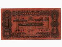 Straits Settlements:P-1c,1 Dollar 1921 * RARE * VF *