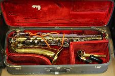 Vintage 1963 Buescher Aristocrat Saxophone! w/ Original Case!