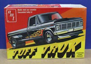 """Vtg AMT T413 1977 Ford Duallie Pickup Kit """"Tuff Truck"""" 1:25 Sealed inside 1977"""