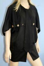 Cotton Blend Outer Shell Regular Size Cape Coats, Jackets & Waistcoats for Women